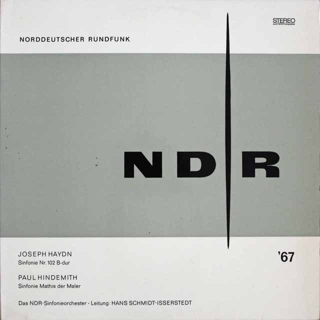 イッセルシュテットのハイドン/交響曲第102番ほか 独NDR 3303 LP レコード