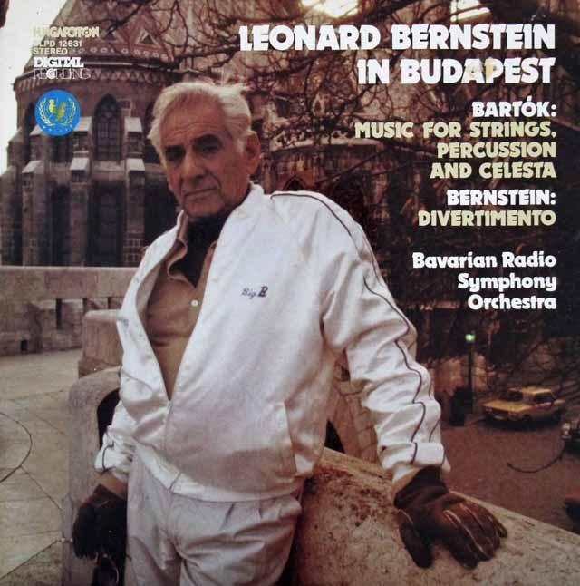 バーンスタインの1983年ブダペストライヴ ハンガリーHungaroton 3294 LP レコード