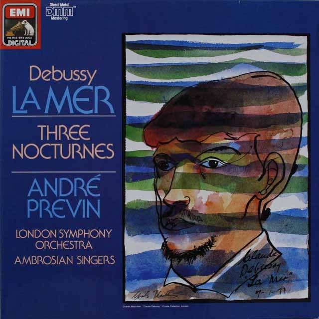 プレヴィンのドビュッシー/「海」ほか 独EMI 3231 LP レコード