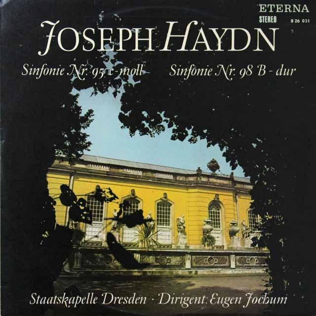 【テストプレス】 ヨッフムのハイドン/交響曲第95&98番 独ETERNA 3223 LP レコード