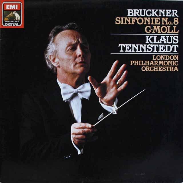 テンシュテットのブルックナー/交響曲第8番 独EMI 3231 LP レコード