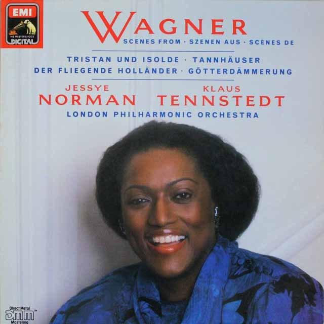 ノーマン&テンシュテットのワーグナー/アリア集 独EMI 3231 LP レコード