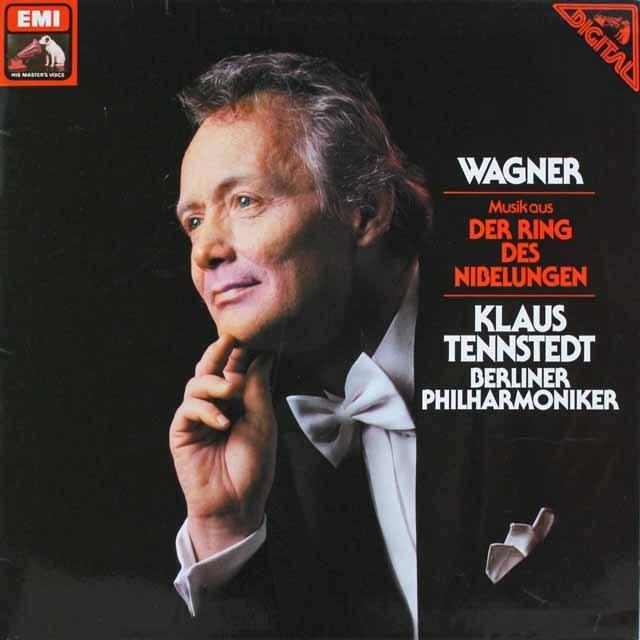 テンシュテットのワーグナー/「ニーベルングの指環」の音楽 独EMI 2520