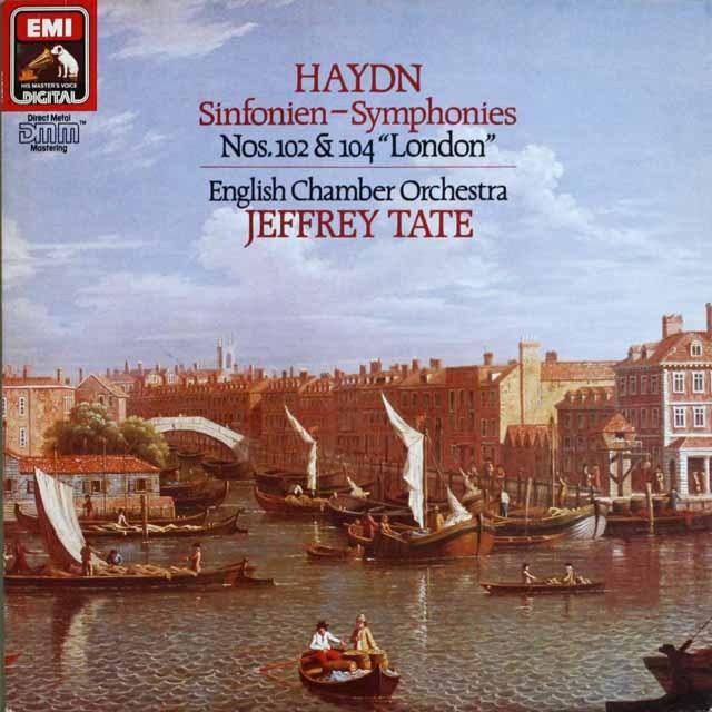 テイトのハイドン/交響曲第102番&104番「ロンドン」 独EMI 3231 LP レコード