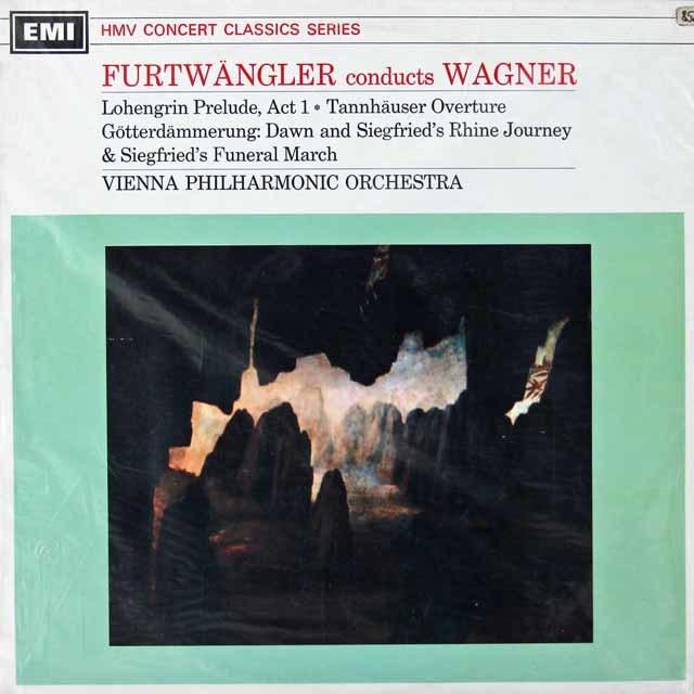 【未開封】 フルトヴェングラーのワーグナー/「タンホイザー」序曲ほか 英EMI 3029 LP レコード