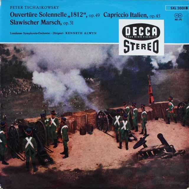 アルウィンのチャイコフスキー/「1812年」ほか 独DECCA 3231 LP レコード