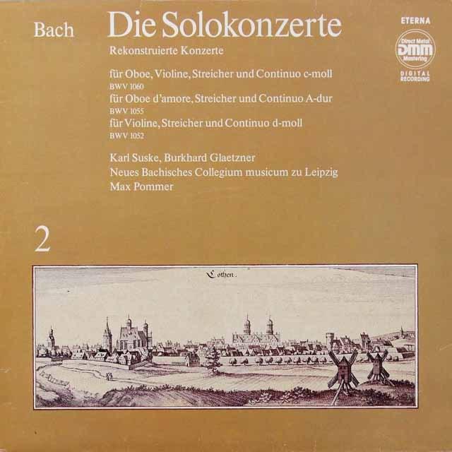 ズスケ&グレツナーのバッハ/協奏曲集 vol.2 独ETERNA 3291 LP レコード