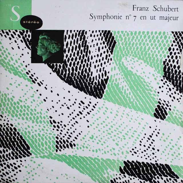 アルヘンタのシューベルト/交響曲第9番「グレート」 仏CF  2521
