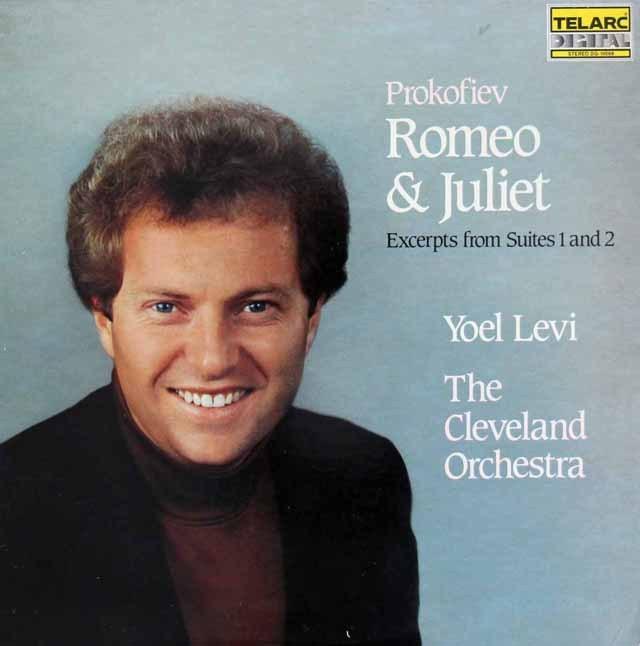 レヴィのプロコフィエフ/「ロメオとジュリエット」組曲抜粋 独TELARC 3294 LP レコード