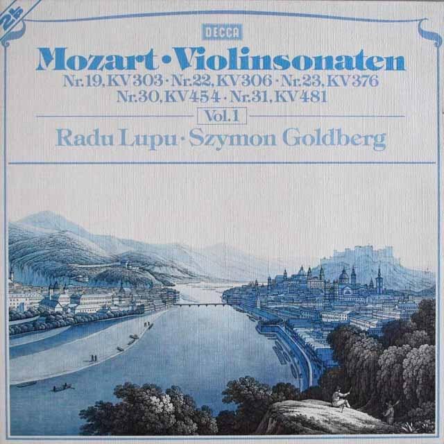 ルプー&ゴールドベルクのモーツァルト/ヴァイオリンソナタ集 vol.1  独DECCA   2521