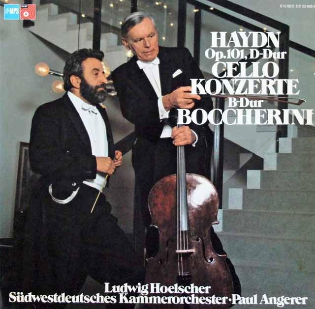 ヘルシャーのハイドン/チェロ協奏曲第2番ほか  独MPS 2845 LP レコード