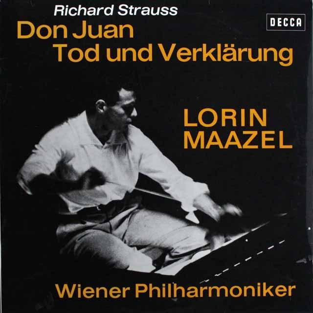 マゼールのR.シュトラウス/「ドン・ファン」&「死と浄化」  独DECCA 3231 LP レコード
