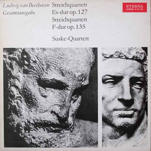 ズスケ四重奏団のベートーヴェン/弦楽四重奏曲第12&16番 独ETERNA 2640 LP レコード
