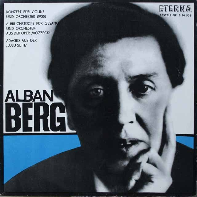 ガライ&ケーゲルのベルク/ヴァイオリン協奏曲「ある天使の思い出に」ほか 独ETERNA モノラル 2640 LP レコード