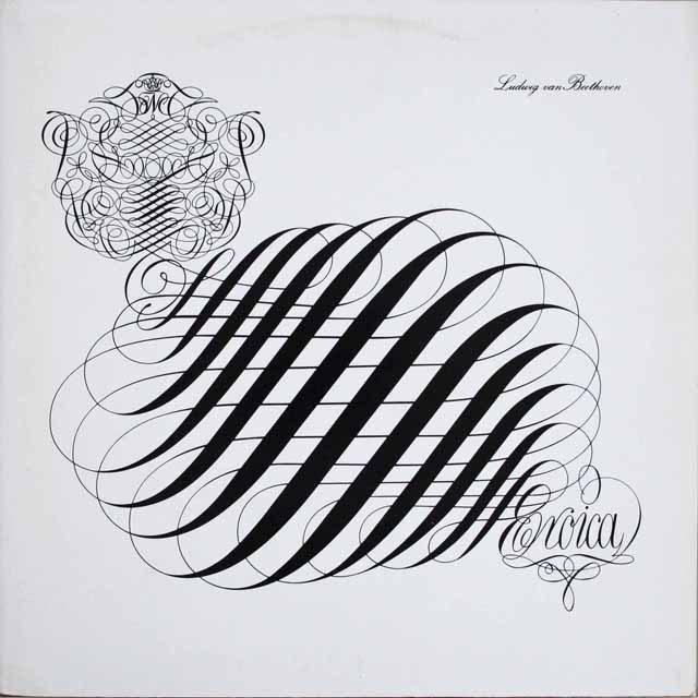 ツェンダーのベートーヴェン/交響曲第3番「英雄」 独SR 3303 LP レコード