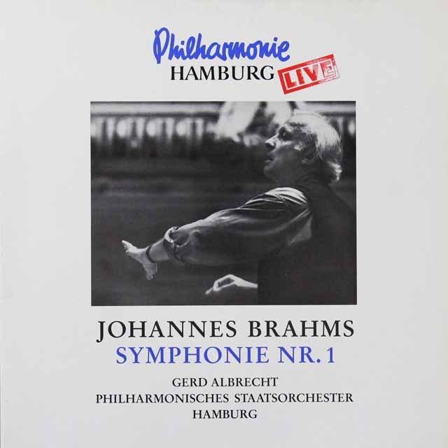 アルブレヒトのブラームス/交響曲第1番 独insider 3292 LP レコード