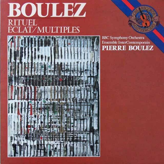 ブーレーズの自作自演/典礼ほか 蘭CBS 3223 LP レコード