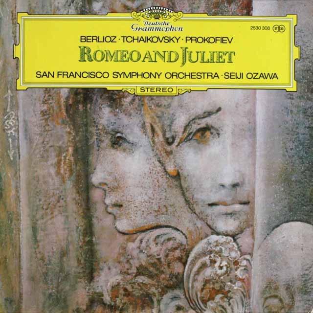小澤の「ロミオとジュリエット」の音楽 独DGG 3232 LP レコード