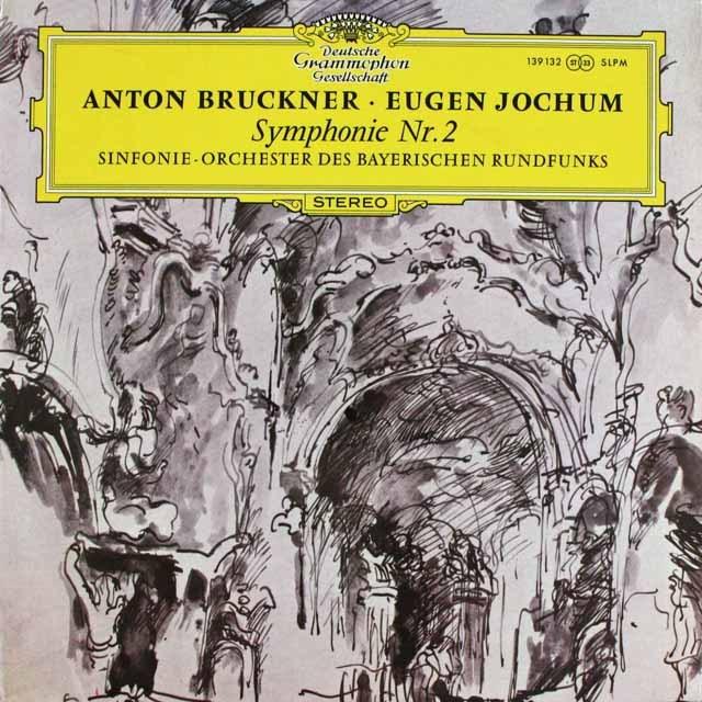 ヨッフムのブルックナー/交響曲第2番 独DGG 3232 LP レコード