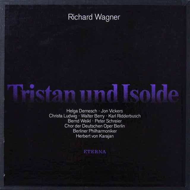 【テストプレス】 カラヤンのワーグナー/「トリスタンとイゾルデ」 独ETERNA 3223 LP レコード
