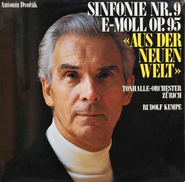 【オリジナル盤】ケンペのドヴォルザーク/交響曲第9番「新世界より」 スイスexlibris 3001 LP レコード