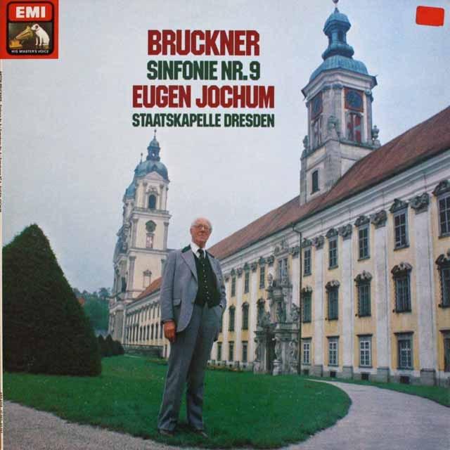 ヨッフムのブルックナー/交響曲第9番 独EMI 3232 LP レコード