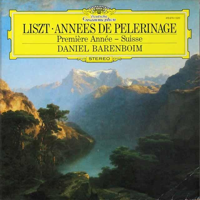 バレンボイムのリスト/巡礼の年「スイス」 独DGG 3291 LP レコード