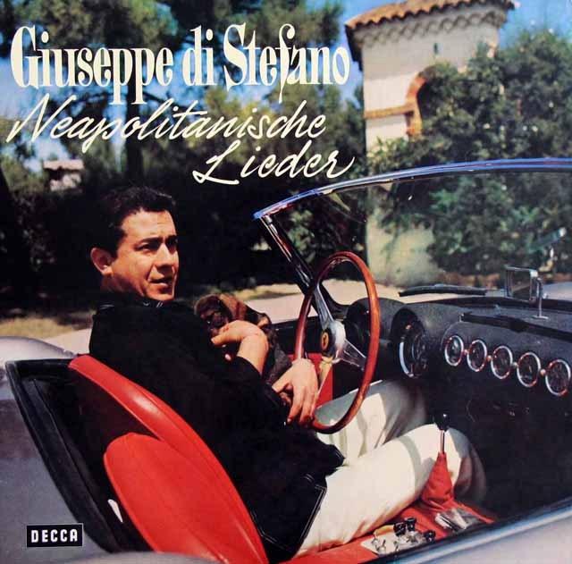 ステファノのナポリ民謡 独DECCA 3001 LP レコード