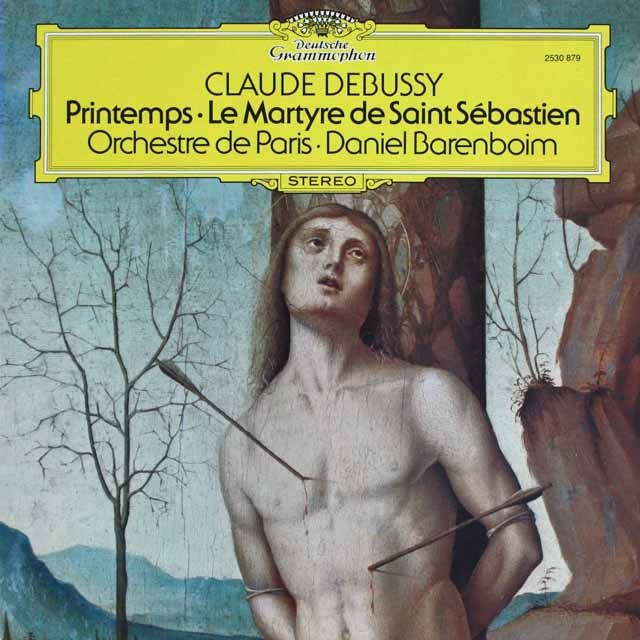 バレンボイムのドビュッシー/「聖セバスティアンの殉教」ほか  独DGG 3232 LP レコード