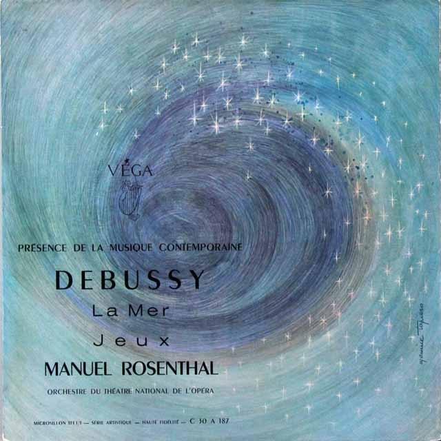 ローゼンタールのドビュッシー/「海」&「遊戯」 仏VEGA 3291 LP レコード