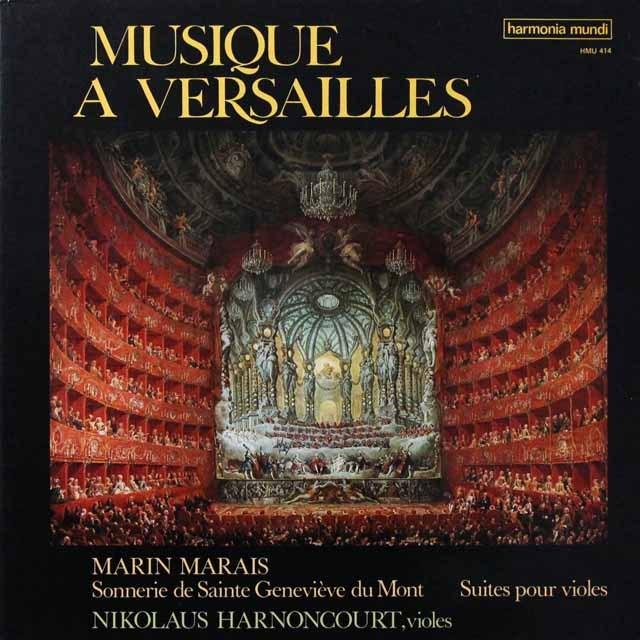 アーノンクールらのマレー/ヴェルサイユの音楽 仏HM 3291 LP レコード