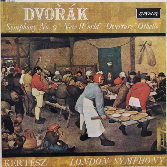 ケルテスのドヴォルザーク/交響曲第9番「新世界より」ほか 英LONDON(DECCA) 3001 LP レコード