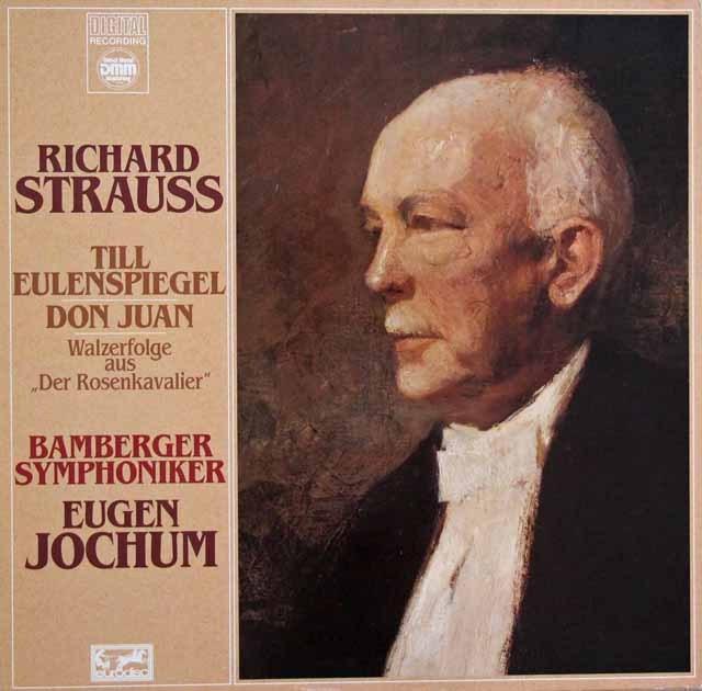 ヨッフムのR.シュトラウス/「ティル」ほか 独EURODISC 3001 LP レコード
