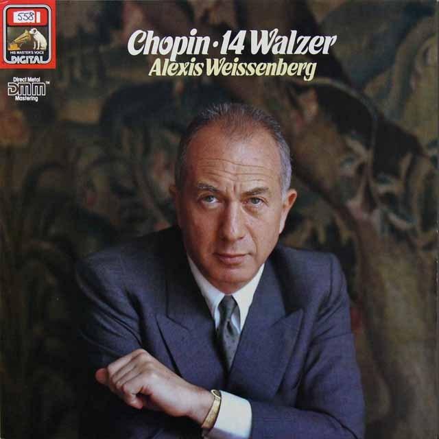 ワイセンベルクのショパン/ワルツ集 独EMI 3291 LP レコード