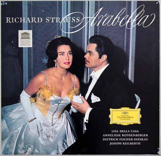 【テストプレス】カイルベルトのR.シュトラウス/「アラベラ」全曲 独DGG 3001 LP レコード