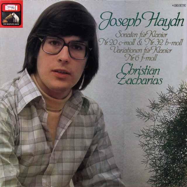 ツァハリアスのハイドン/ピアノソナタ集 独EMI 3291 LP レコード