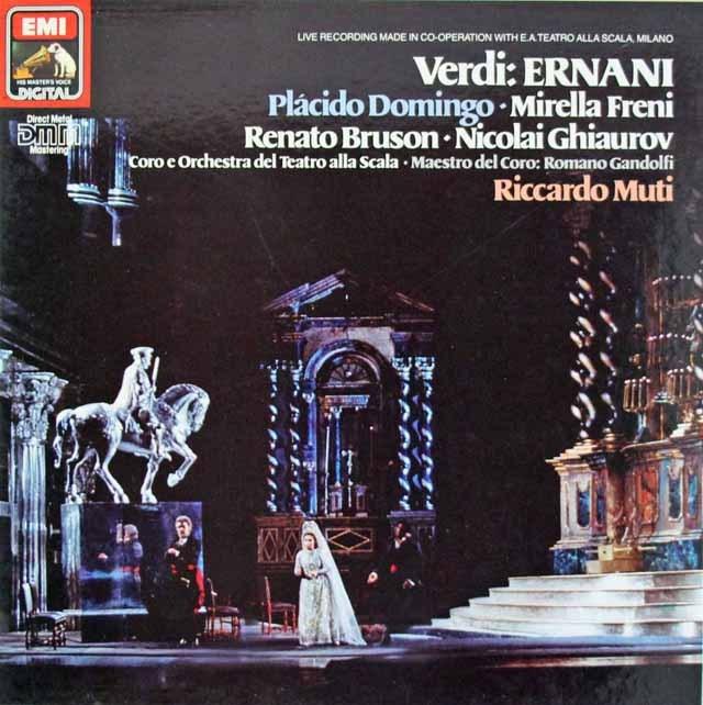 ムーティのヴェルディ/「エルナーニ」全曲 独EMI 3294 LP レコード