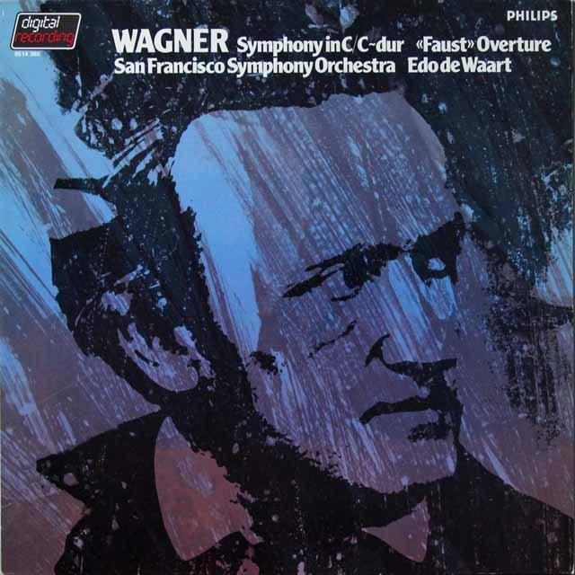 ワールトのワーグナー/交響曲ハ長調ほか 蘭PHILIPS 3291 LP レコード
