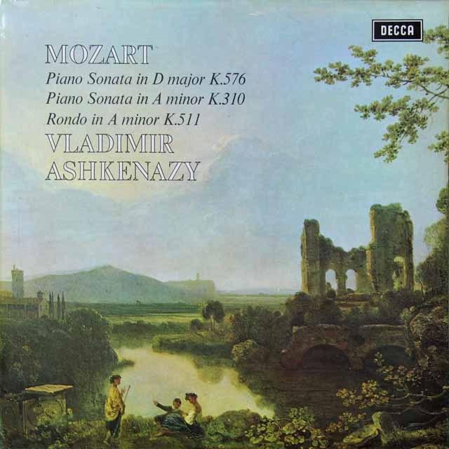 【オリジナル盤】 アシュケナージのモーツァルト/ピアノソナタ第18番&第8番ほか 英DECCA 3292 LP レコード