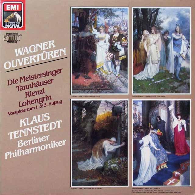 テンシュテットのワーグナー/「タンホイザー」ほか序曲と前奏曲 独EMI 2709 LP レコード