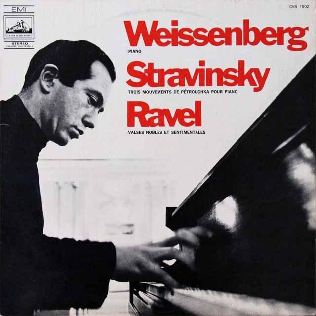ワイセンベルクのストラヴィンスキー/「ペトルーシュカ」「ペトルーシュカ」からの3楽章ほか 仏EMI(VSM) 3292 LP レコード