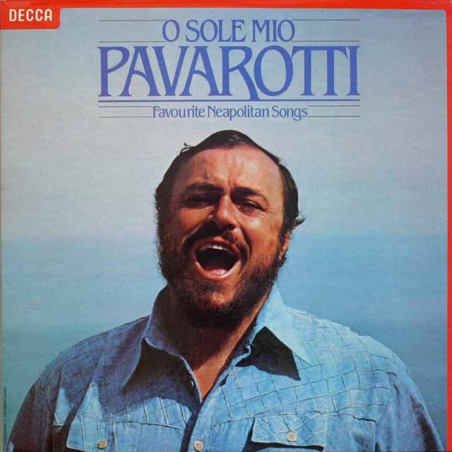 パヴァロッティのイタリア民謡集 蘭DECCA 2518