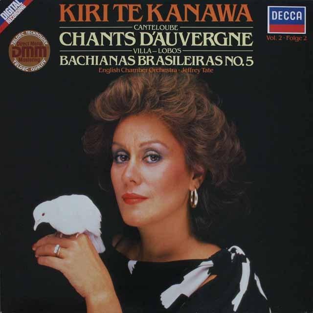 キリ・テ・カナワのカントルーブ/「オーベルニュの歌」 独DECCA 2518