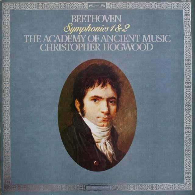 ホグウッドのベートーヴェン/交響曲第1&2番ほか 蘭L'OISEAU-LYRE 3230 LP レコード