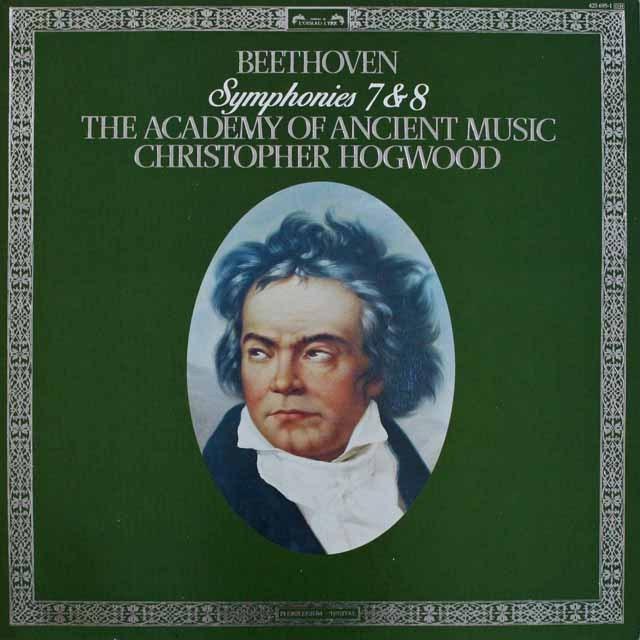 ホグウッドのベートーヴェン/交響曲第7&8番 蘭L'OISEAU-LYRE 2518