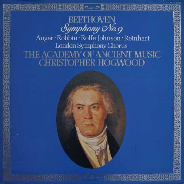ホグウッドのベートーヴェン/交響曲第9番「合唱」 蘭L'OISEAU-LYRE 2518