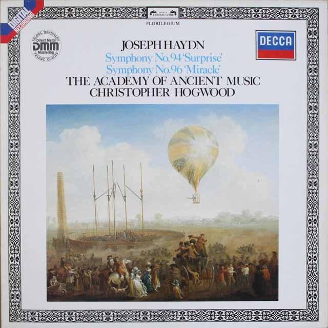 ホグウッドのハイドン/交響曲第94&96番 独DECCA 2518