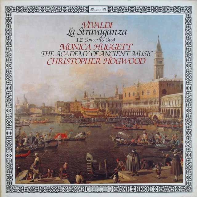 ホグウッドのヴィヴァルディ/ラ・ストラヴァガンツァ 蘭L'OISEAU-LYRE 3230 LP レコード