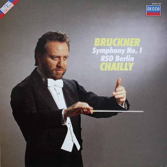 シャイーのブルックナー/交響曲第1番 蘭DECCA 2518