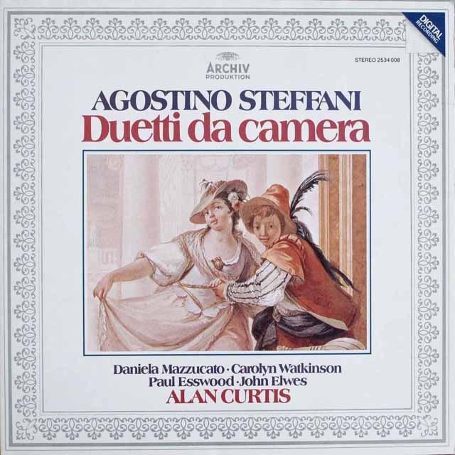 カーティスらのステッファーニ/室内二重唱集 独ARCHIV 3230 LP レコード